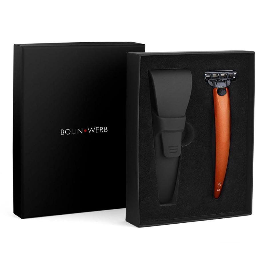Bolin Webb R1-S Razor & Case Signal Orange
