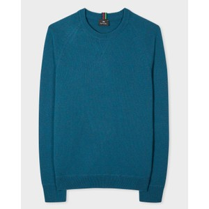 Crew Neck Merino Jumper Petrol Blue