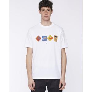 Warning T Shirt White