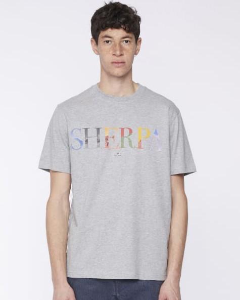 Paul Smith Sherpa T Shirt Grey Melange
