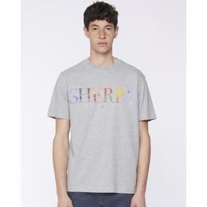 Sherpa T Shirt Grey Melange
