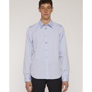 Multi Colour Buttons Shirt Pastel Blue
