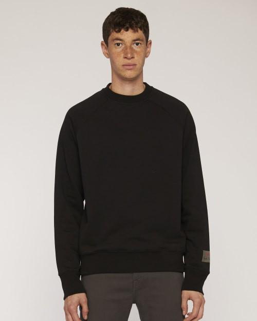 Paul Smith Organic Cotton Sweatshirt Black
