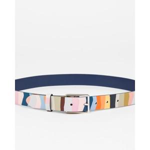Paul Smith Accessories Mountain Stripe Belt Pastel Multi
