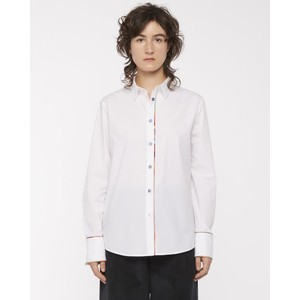 Sig Stripe Trim Shirt White/Multi