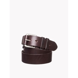 Covered Buckle Belt Chestnut