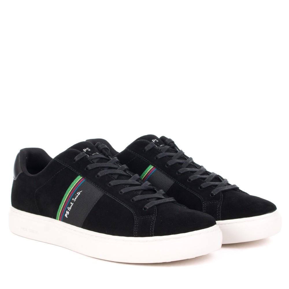 Paul Smith Shoes Rex Suede Trainer Black