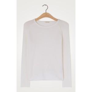Damsville R/nck Sweater White