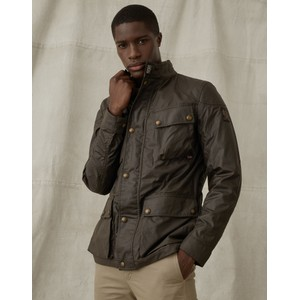 Fieldmaster Wax Jacket Faded Olive