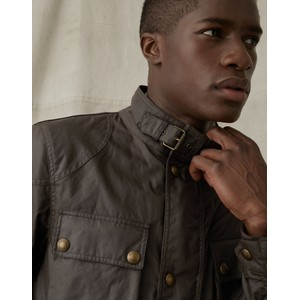 Belstaff Fieldmaster Wax Jacket Faded Olive