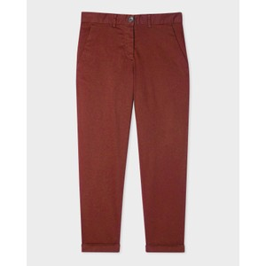 Boyfriend Fit Trousers Rust