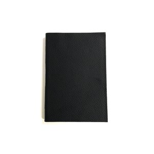Pratesia Florence Leather Notebook-Lined Black