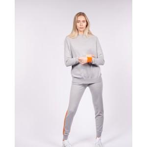 Cavells Contrast Stripe Jogger Grey/Orange