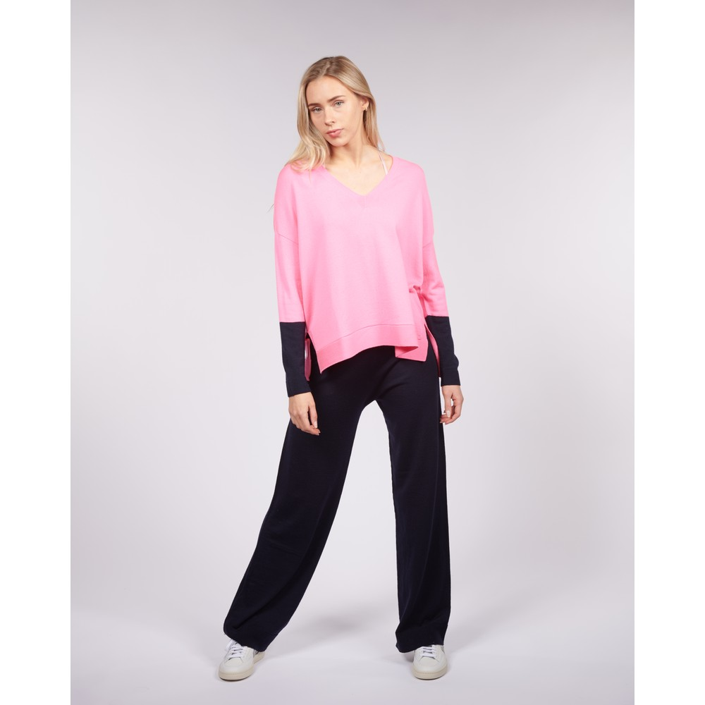 Cavells Wide Leg Relax Pant Navy