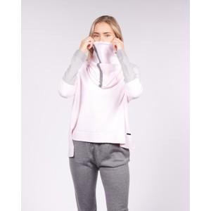 Cavells Merino Cowl Light Pink/Grey