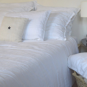 Duvet Cover - Kingsize White
