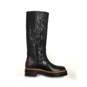 Andr-B Tall Leather Boot Brown