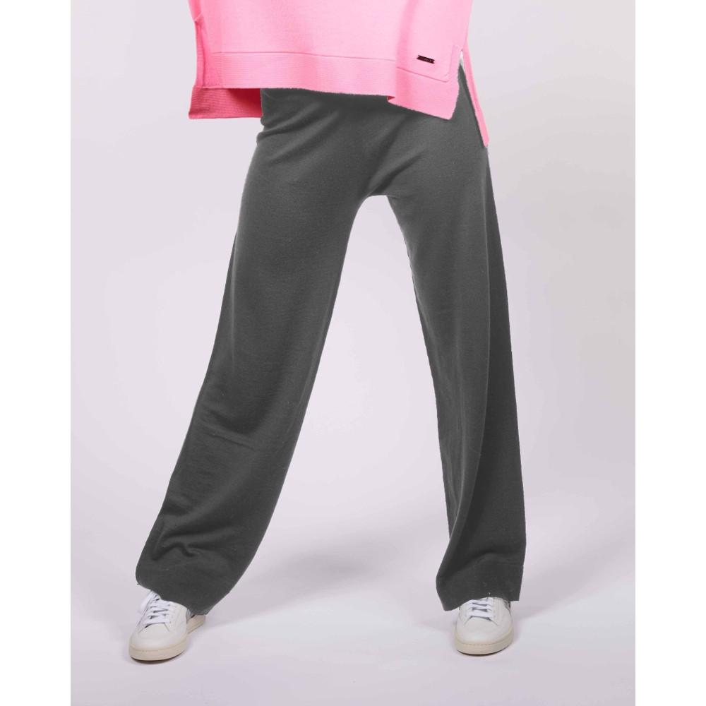 Cavells Wide Leg Relax Pant Charcoal