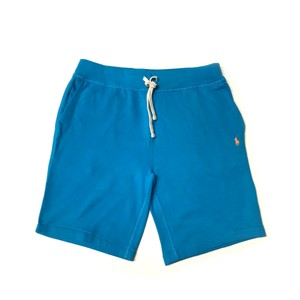 Athletic Polo Logo Shorts Cove Blue