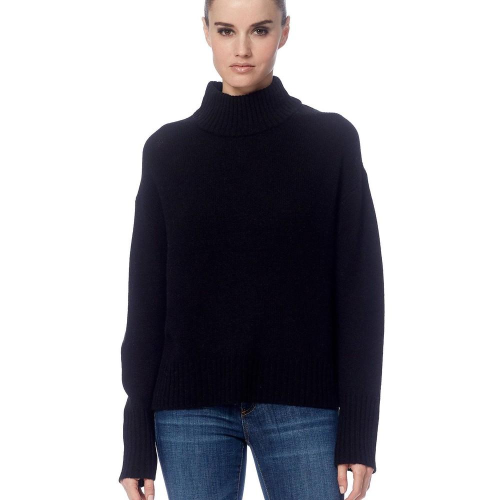 360 Sweater Lyra High Neck Jumper Black