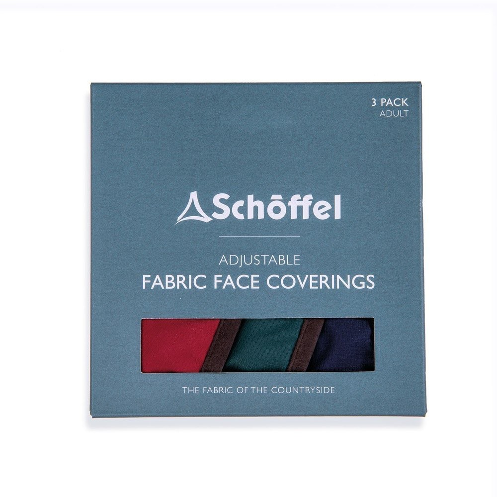 Schoffel Country Schoffel Face Masks Pk 3 Multi
