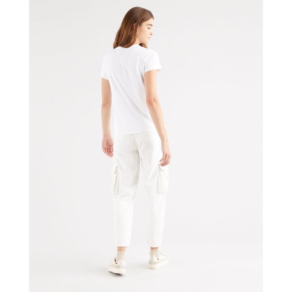 Levis The Perfect Tee White Graphic Logo