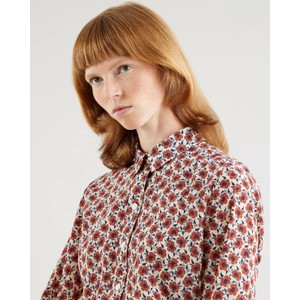 Levis The Classic Shirt Small Folksy Floral Grey
