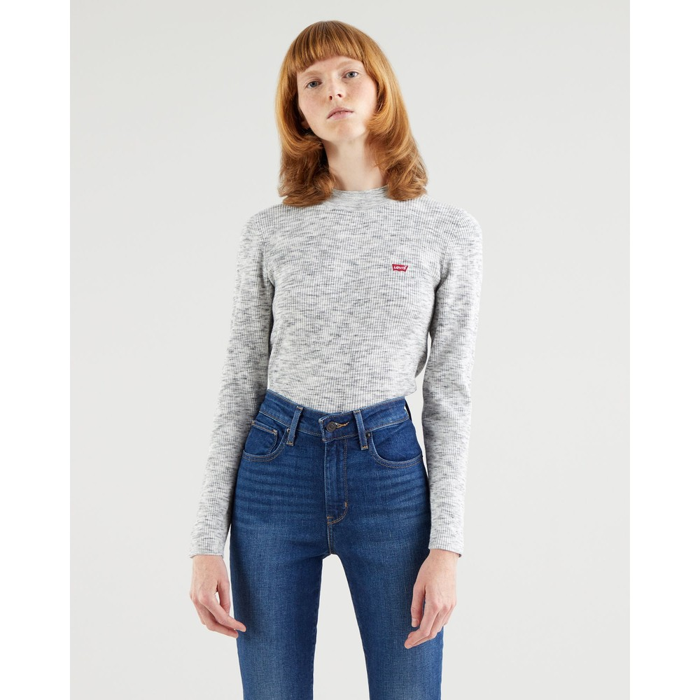 Levis Crew Rib Sweater Thunder Space Dye