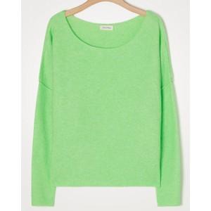 American Vintage Damsville L/S Wide Sweater in Chrysalis Melange