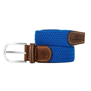 The Braided Belt Azure Blue