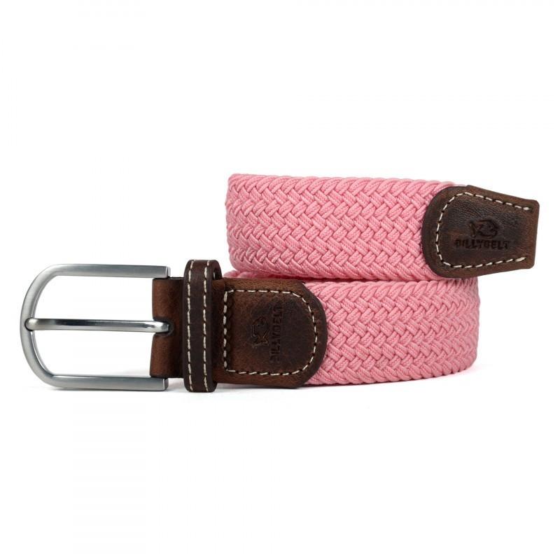 Billybelt The Braided Belt Pink
