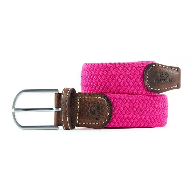 Billybelt The Braided Belt - Fuchsia Pink Fuchsia Pink