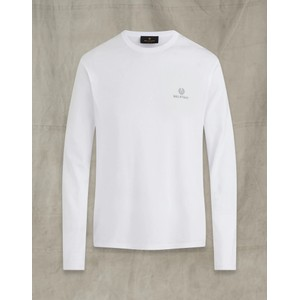 Belstaff L/S T Shirt White