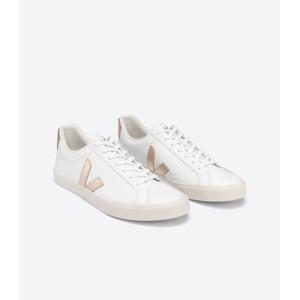Veja Esplar Logo Leather Extra White/Platine