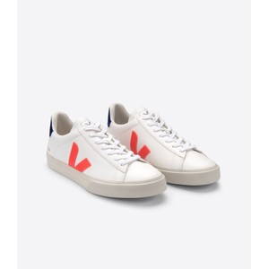 Veja Campo Chromefree Extra White/Orange/Cobalt