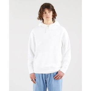 Relaxed Fit Logo Hoodie White