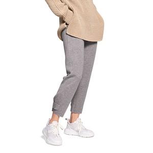 Raw Edge Btn Cuff Trousers Busy Grey