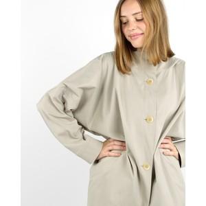 Tania Cuu 41 Oversized Coat Mastic