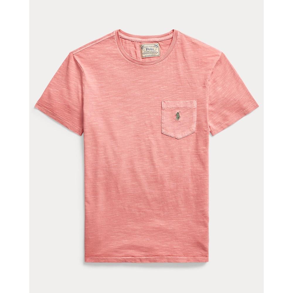 Polo Ralph Lauren S/S Logo Pocket Tee Desert Rose