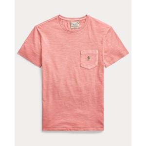 Polo Ralph Lauren S/S Logo Pocket Tee in Desert Rose