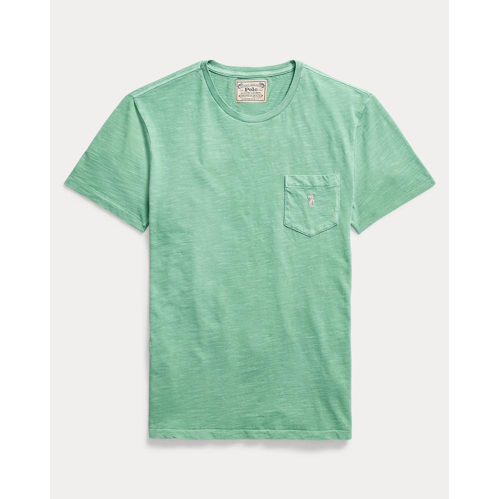 Polo Ralph Lauren S/S Logo Pocket Tee Haven Green