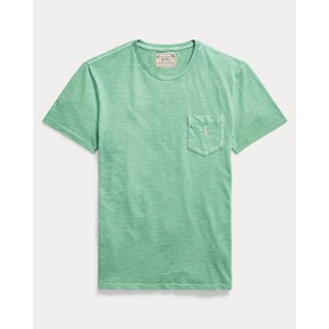 S/S Logo Pocket Tee Haven Green
