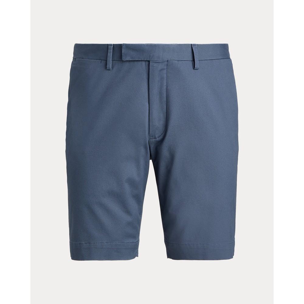 Polo Ralph Lauren Flat Front Slim Fit Shorts Blue Corsair