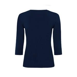 Riani 3/4 Sleeve Jersey T Shirt Deep Blue
