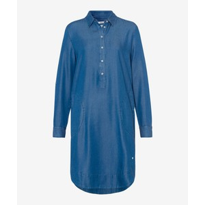Gillian L/S Tunic Dress Denim Blue