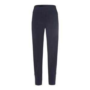 Zip Detail Slim Trousers Deep Blue