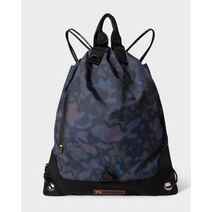 Heat Map Camo String Bag Black