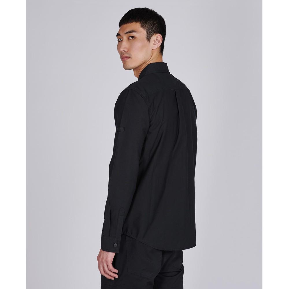 Barbour International Asset Overshirt Black