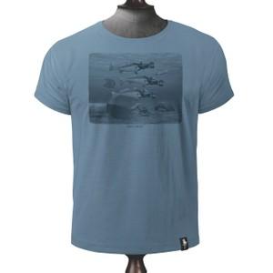 Seasick T Shirt Noble Blue