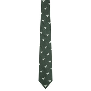 Schoffel Country Waltham Silk Tie in Olive Ptarmigan